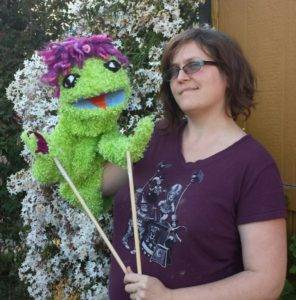 Paisley the Puppet!
