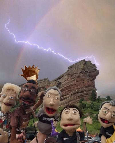 Red Rocks 2018 Ween Puppets